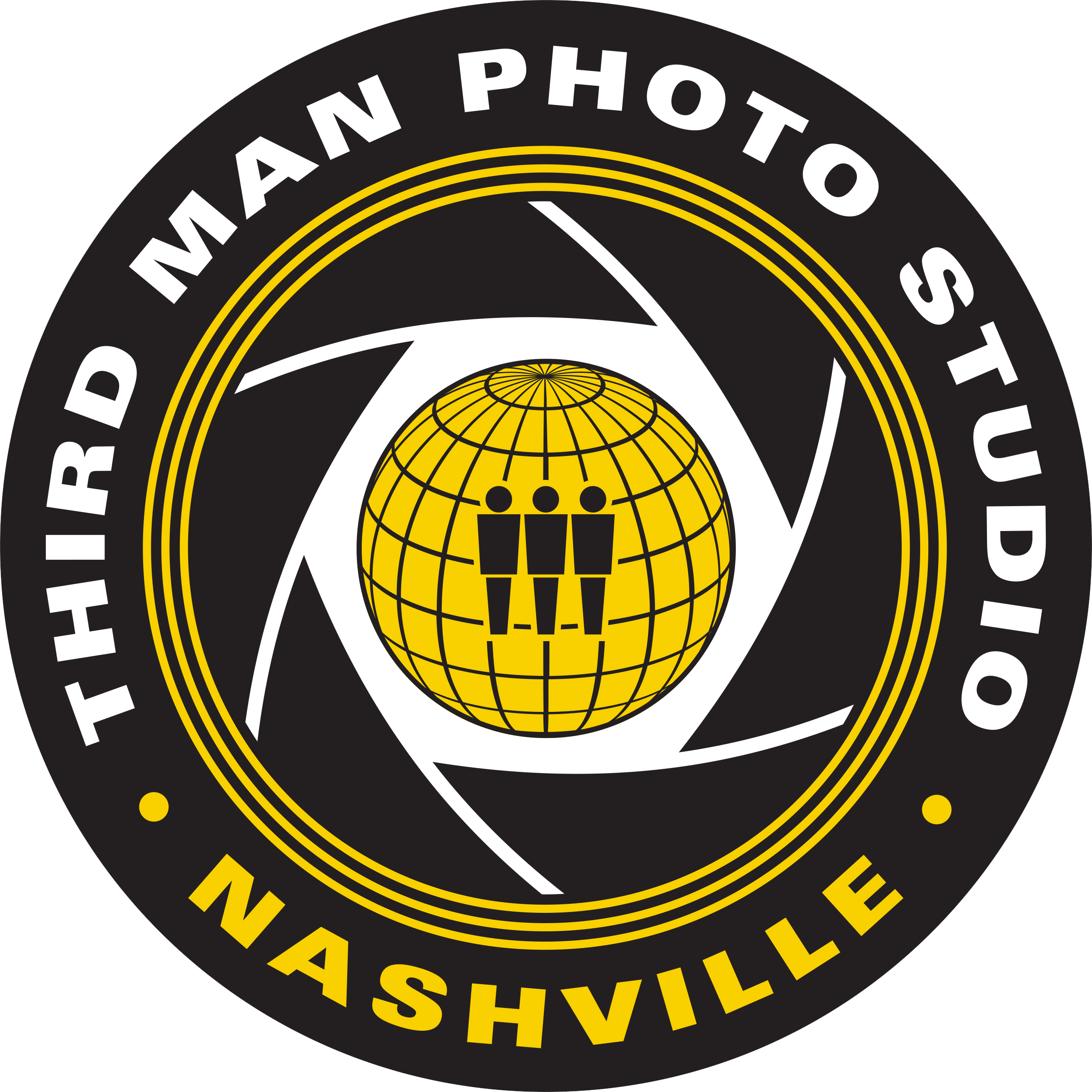 Third Man Photo Studio Logo